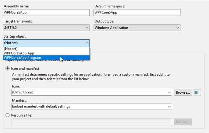 2020-12-18 17_40_09-WPFCore5App - Microsoft Visual Studio